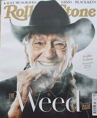 Willie NELSON COVERS ROLLINGSTONE MAGAZINE May 2019 NO MAILING LABELS