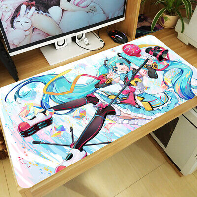 Vocaloid Hatsune Miku Anime Mouse Pad Mat Keyboard Yugioh Gaming Play Mat XQ