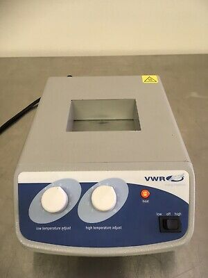 VWR Scientific Analog Heatblock 12621-104 Pre-owned Without Block Excellent
