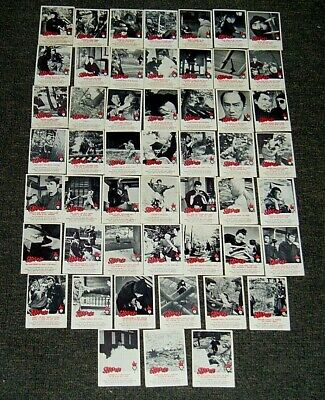 Vintage Scanlens 1964 Samurai Cards Bulk Lot