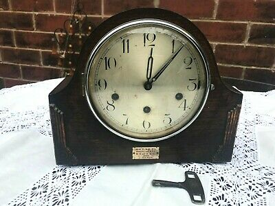 Art Deco 1930's Haller Chimes Mantel Clock (For Parts or restoration)