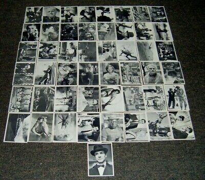 Vintage Scanlens James Bond 007 Cards Bulk Lot x 49