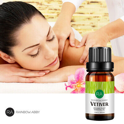 Ra Vetiver 10Ml Essential Oils Pure 10Ml Therapeutic Aromatherapy Vetiver Oil Us