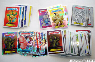 lot Garbage Pail Kids cards by Topps from 2014 & 2013 regular chrome