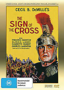Sign of the Cross DVD (1932) Cecil B DeMille  Fredric March ROMAN WAR BRAND NEW
