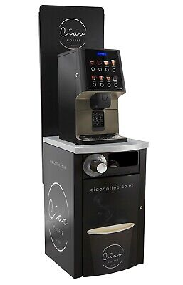 Coffee To Go Drinks Station - Brand New Commercial Coffee Machine Bean To Cup