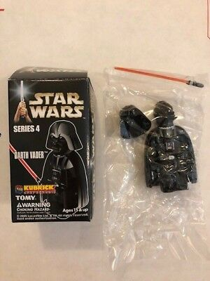 Kubrick Medicom Toy Star Wars Darth Vader with Removeable Helmet series 4