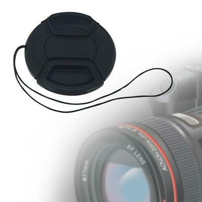 58MM Plastic Front Lens Cap With String Cover Accessory For SLR DSLR Camera 2019