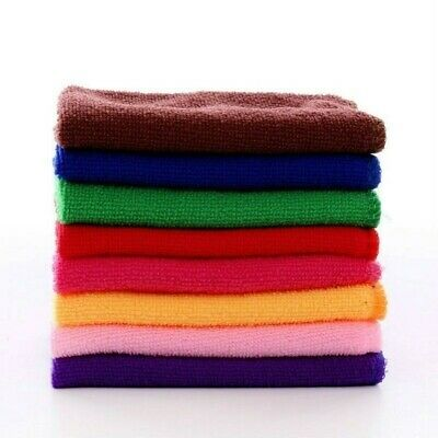 10 X Car Wash Microfiber Towel Soft Absorbent Auto Care Cleaning Drying Cloth