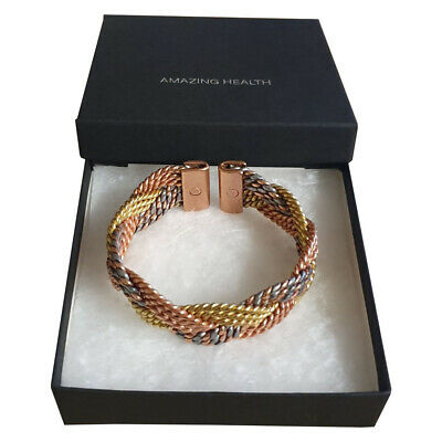Amazing Health Ladies Copper and Magnetic Stylish bracelet Hand Crafted