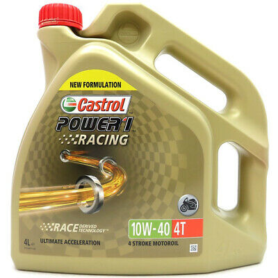 4 Liter Castrol Power 1 Racing 4T 10W-40