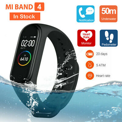 Xiaomi Mi Band 4 Smart Wristband Bracelet Watch OLED Touch Screen Waterproof US#