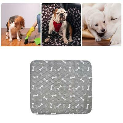 Reusable 60X40CM LARGE PUPPY TRAINING PADS TOILET PEE WEE MATS PET DOG CAT Cushi