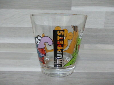 Vintage collection water glass The Muppets Disney 2012
