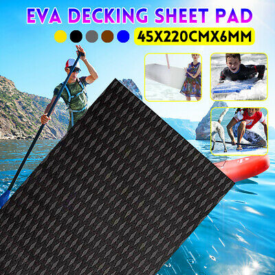 Tappeto Antiscivolo Sheet Piani Teak Eva Decking Barca Yacht Piano 45x220CM 6MM