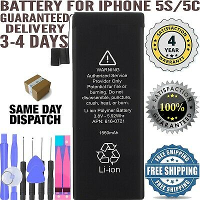 Replacement Battery for iPhone 5S 5C 1560mAh Li-ion + oem Free Tool