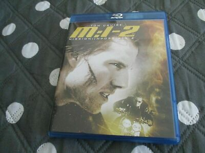 "BLU-RAY ""MISSION IMPOSSIBLE 2"" Tom CRUISE"