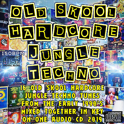 OLD SKOOL HARDCORE JUNGLE TECHNO 1990's dj MIXED CD NEW 2019 MUSIC MIX RAVE