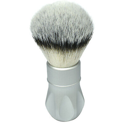 Alpha Outlaw Rubberset 400 Tribute Synthetic Aluminium Shaving Brush - Large