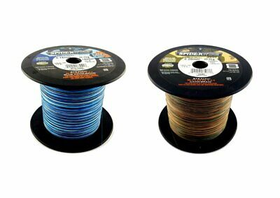 Spiderwire Infiltration Lisse 8 Tressé Fil 2 Couleurs 3 Lengths Carpe