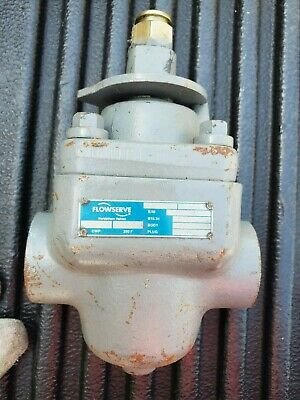 "1"" Threaded Plug Valve Lubricated Nordstrom Flowserve Fig 2024 #300 Class Steel"