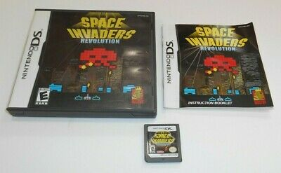 Space Invaders Revolution Nintendo DS Game Complete Includes Classic NDS Lite