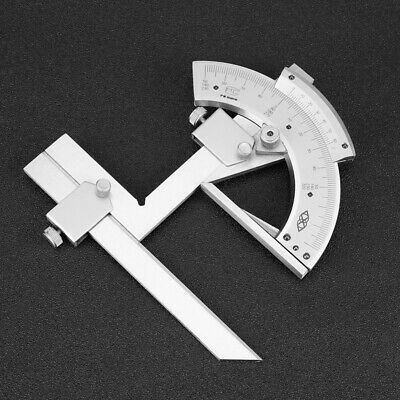 Universal Bevel Protractor Vernier Machinist Angle Finder Mechanic