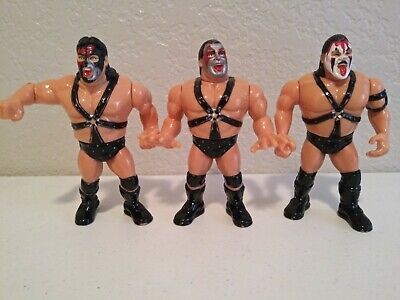 Wwf Hasbro Demolition Wrestling Figures, Ax, Smash & Crush Wwe Titan,
