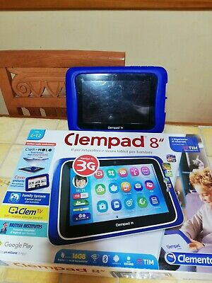 Clementoni,  Clempad 8,  3g tablet bambino