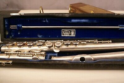 Flute The Haynes Flute Company 1959 Sterling Silver + Org. Cases