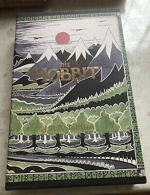 THE HOBBIT by J.R.R. TOLKIEN 70th Anniversary Edition with SLIPCASE illustrated