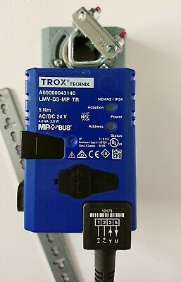 New Damper Actuator Trox Technik Damper Lmv-D3-Mp Tr