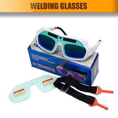 Solar Powered Auto Darkening Welding Glasses Mask Goggles Eye Safety Gracious AU