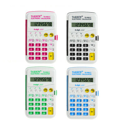 8 Digits Pocket Electronic Calculator Assorted Muti - Colours