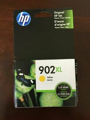 HP 902XL High Yield Yellow Original Ink Cartridge Expires 9/2020