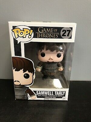 Game of Thrones FUNKO Pop! SAMWELL TARLY #27 Edition 3 Vaulted 2014 w/ Protector