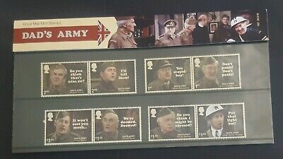 2018 Gb Royal Mail Commemorative Stamps Presentation Pack No 557 Dads Army - New