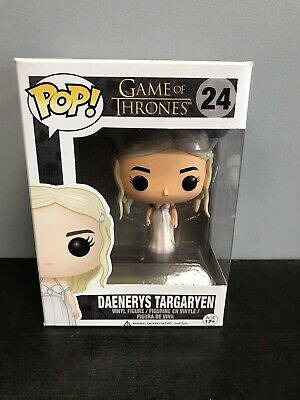 Funko Pop Game of Thrones Daenerys Targaryen Wedding Dress VAULTED! w/ Protector