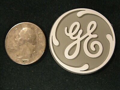 NOS Vintage, GE, General Electric Round Insignia Refrigerator Magnet, 1 1/2 inch