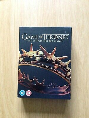 Game Of Thrones The Complete Season 2 Box Set DVD