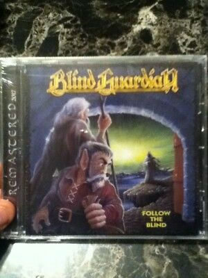 blind guardian follow the blind cd remastered 2017 factory sealed power metal