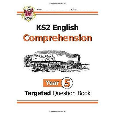 CGP New KS2 English Targeted Question Book: Year 5 Comprehension - Book 1
