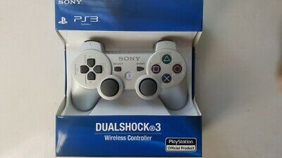 Original Sony PlayStation 3 PS3 DualShock 3 Wireless SixAxis Controller Silver