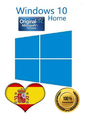 ✅Windows 10 Home - 32/64 bits 100% clave/Key ORIGINAL - ESPAÑA ✅ 100% ✅