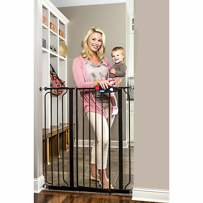 Regalo 1166p Deluxe Easy Step Extra Tall Gate Black