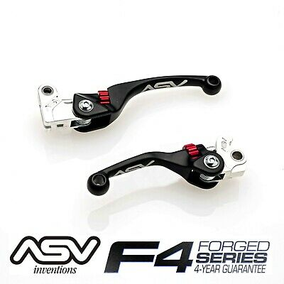 ASV Inventions F4 Series Off-Road Brake and Clutch Levers Pair Pack BCF40304