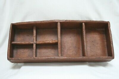 Salem Collection Reproduction Treenware Rectangle Tray / Caddy