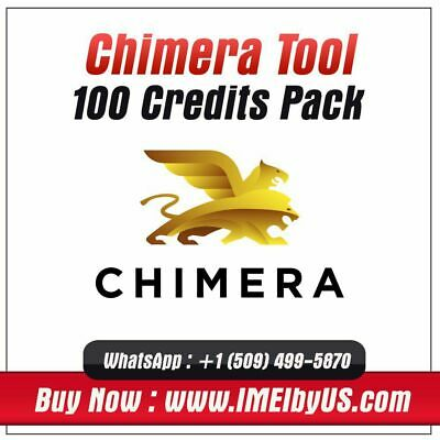 Chimera Tool Server Credit ( 100 Credit Pack ) Unlock / Wipe { Instant Delivery}