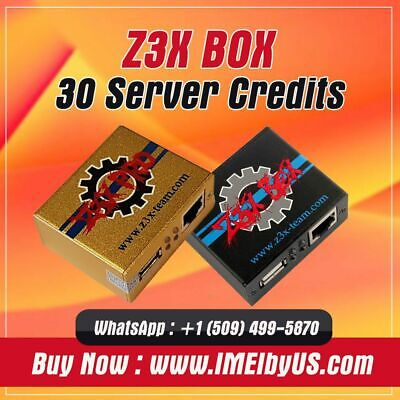 Z3X Server Credits pack (30 Credits) REFILL OLD PACK {FAST DELIVERY }