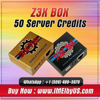 Z3X Server Credits pack (50 Credits)  {FAST DELIVERY }